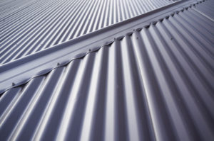 Metal Colorbond roof